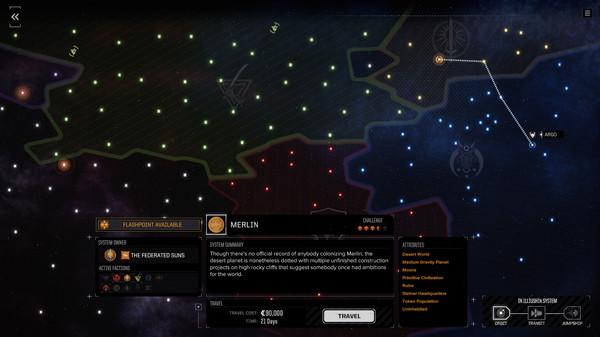 Скриншот №5 к BATTLETECH Flashpoint