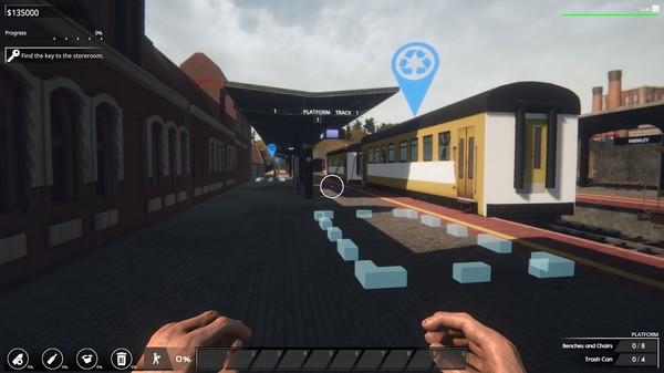 Скриншот №8 к Train Station Renovation