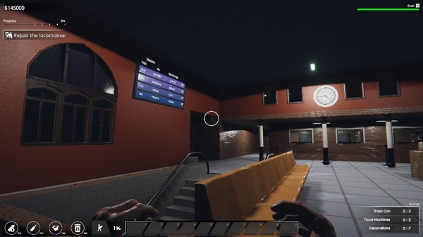 Скриншот №20 к Train Station Renovation