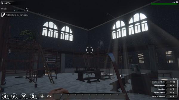 Скриншот №10 к Train Station Renovation