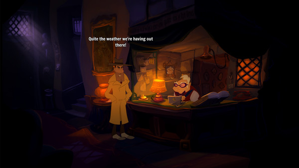 Скриншот №4 к Gibbous -  A Cthulhu Adventure