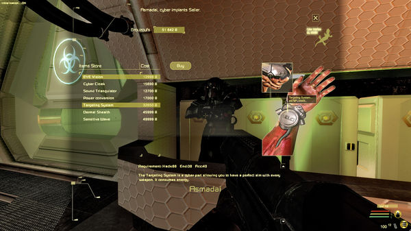Скриншот №13 к E.Y.E Divine Cybermancy