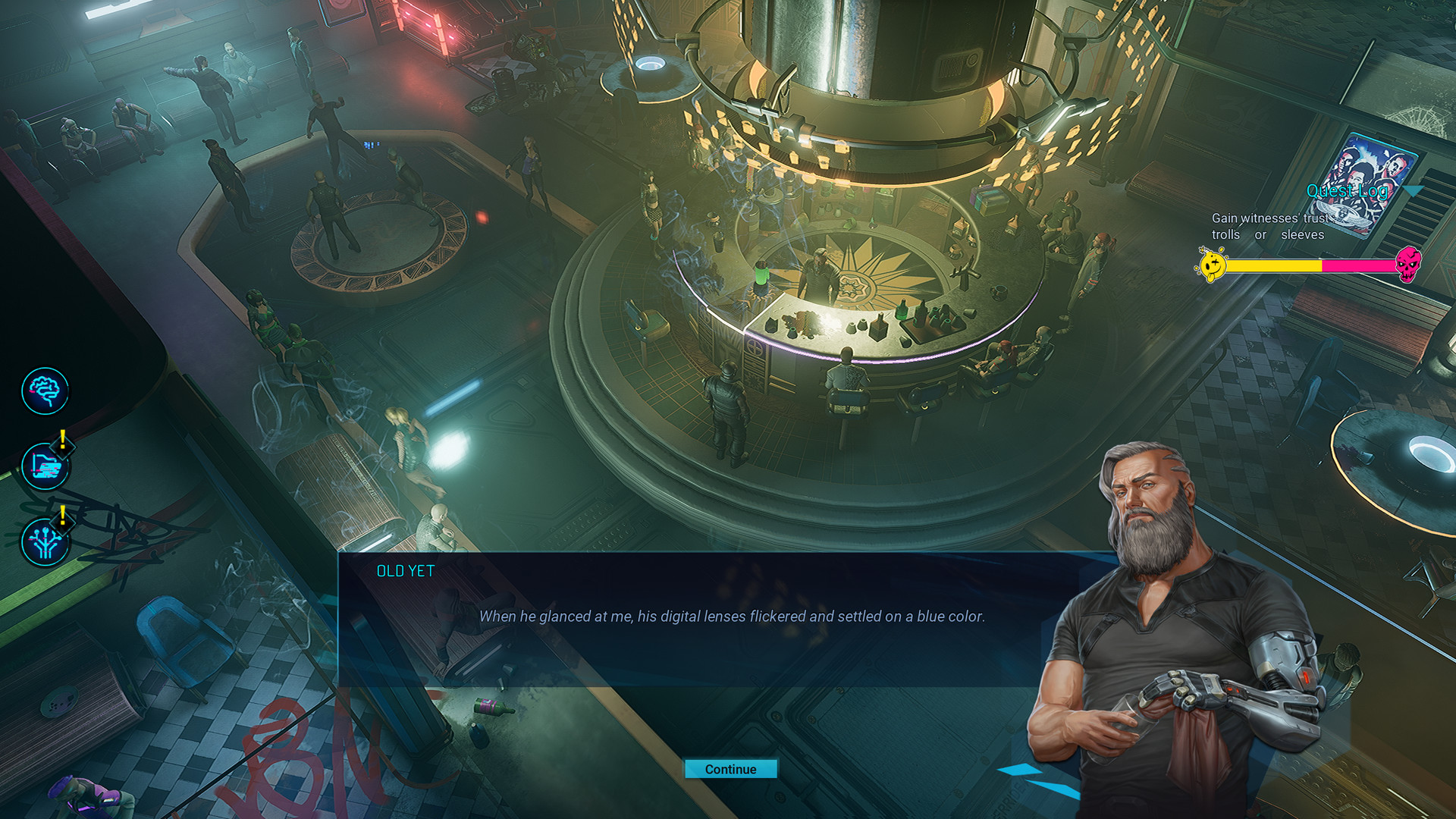Gamedec screenshot 1