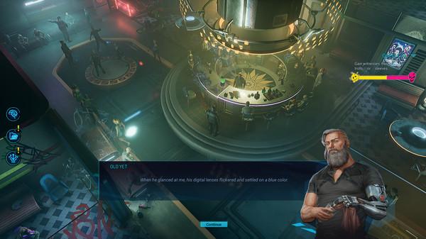 Скриншот №1 к Gamedec