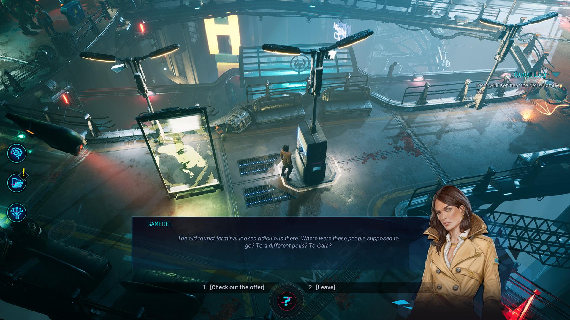 Gamedec screenshot 3