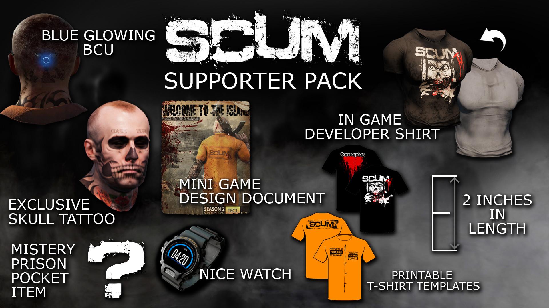 KHAiHOM.com - SCUM Supporter Pack