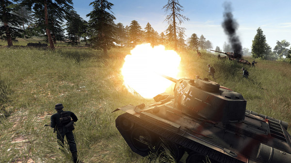 Скриншот №1 к Men of War Assault Squad 2 - Ostfront Veteranen