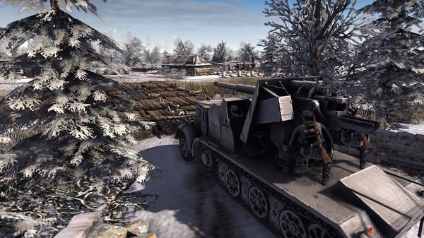 Скриншот №2 к Men of War Assault Squad 2 - Ostfront Veteranen