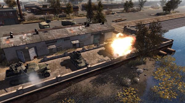 Скриншот №10 к Men of War Assault Squad 2 - Ostfront Veteranen