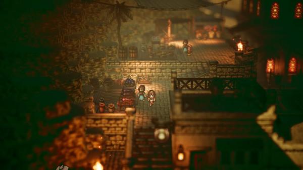 تحميل لعبة Octopath Traveler للكمبيوتر برابط مباشر