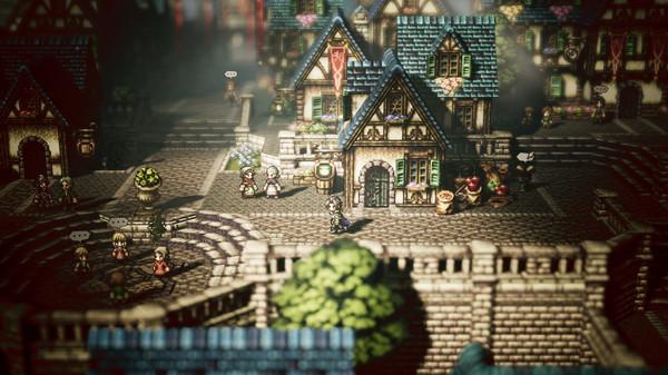Скриншот №1 к OCTOPATH TRAVELER™