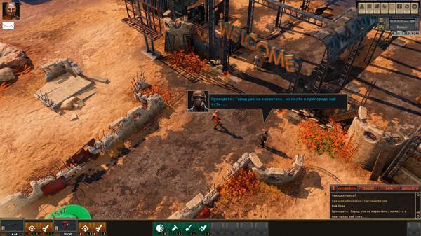 Скриншот №3 к Encased A Sci-Fi Post-Apocalyptic RPG