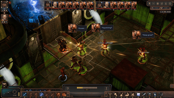 Скриншот №2 к Encased A Sci-Fi Post-Apocalyptic RPG