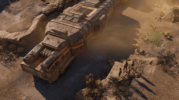 Скриншот №4 к Encased A Sci-Fi Post-Apocalyptic RPG