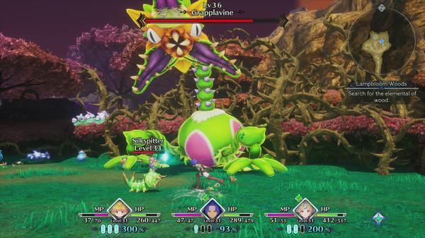 Скриншот №9 к Trials of Mana