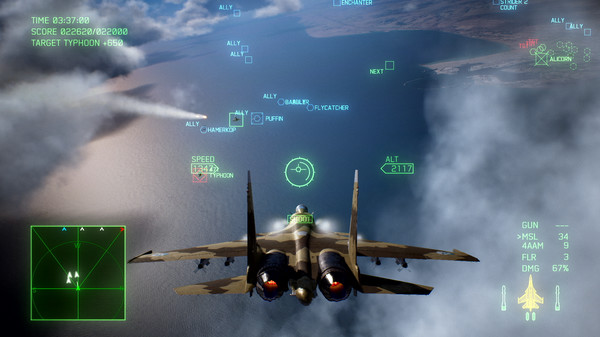 Скриншот №10 к ACE COMBAT™ 7 SKIES UNKNOWN - Unexpected Visitor