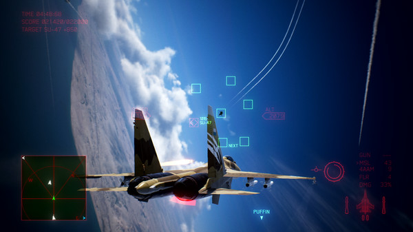 Скриншот №6 к ACE COMBAT™ 7 SKIES UNKNOWN - Unexpected Visitor