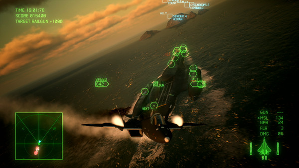 Скриншот №9 к ACE COMBAT™ 7 SKIES UNKNOWN - Ten Million Relief Plan