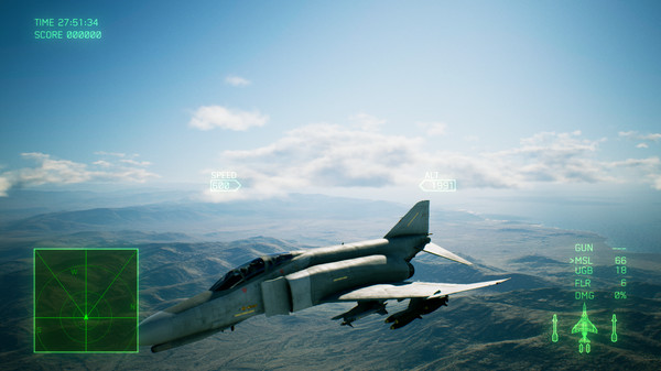 Скриншот №1 к ACE COMBAT™ 7 SKIES UNKNOWN - F-4E Phantom II + 3 Skins