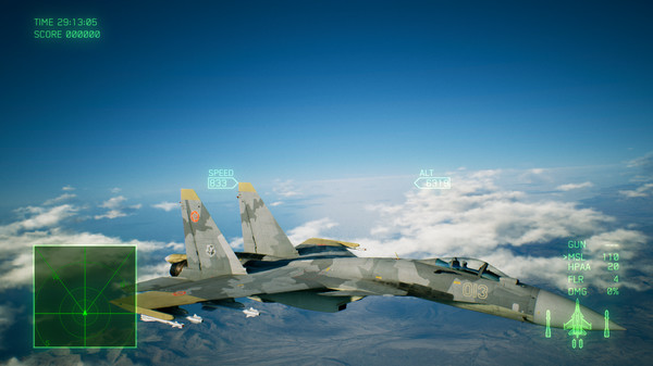 Скриншот №5 к ACE COMBAT™ 7 SKIES UNKNOWN - F-4E Phantom II + 3 Skins