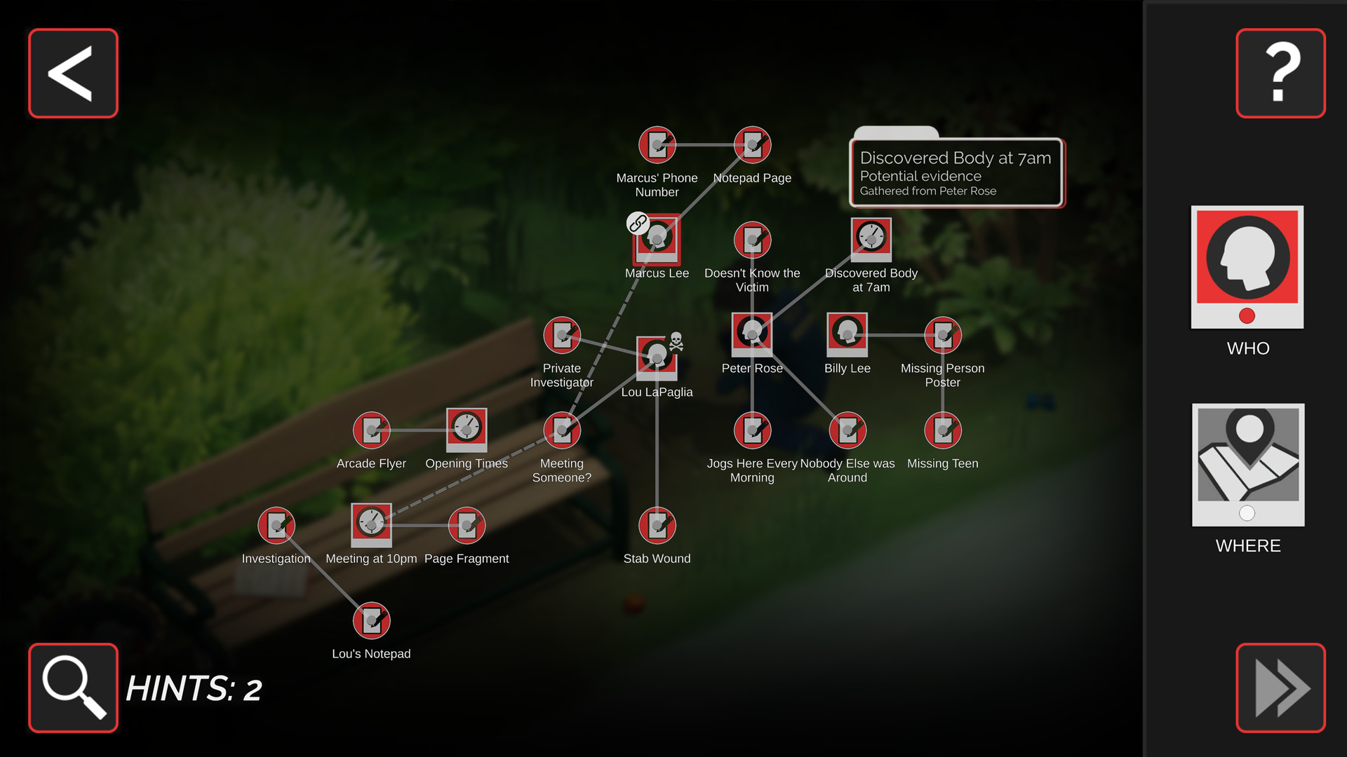Murder Mystery Machine screenshot 2