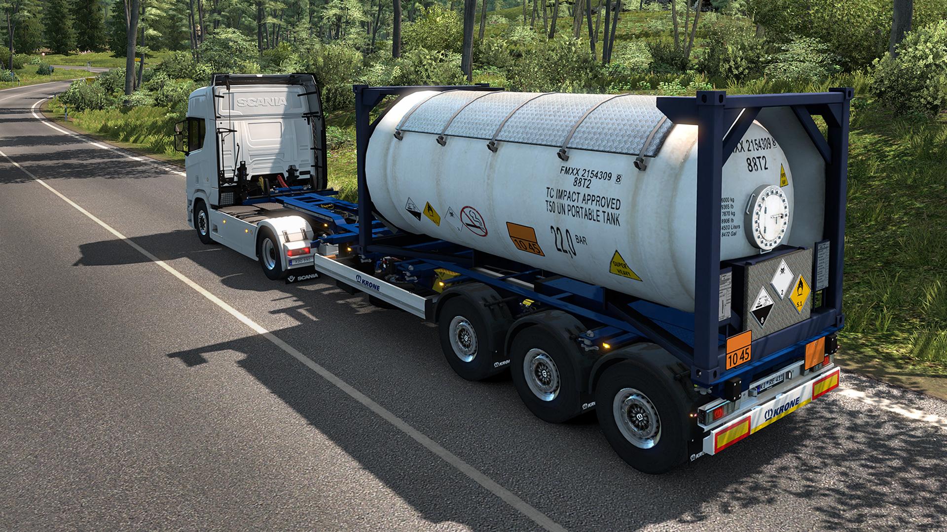 Save 50 On Euro Truck Simulator 2 Krone Trailer Pack On Steam