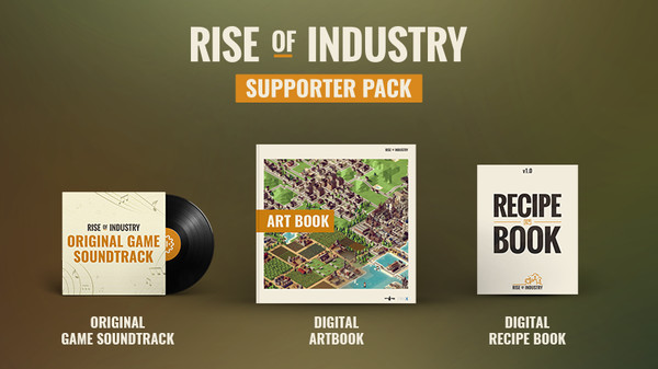 Скриншот №1 к Rise of Industry - Supporter Pack
