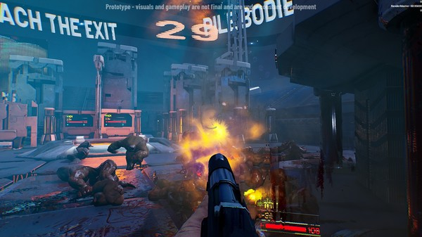 Скриншот №11 к Maze Slaughter Prototype