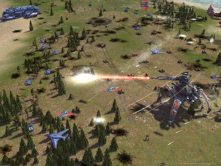 Скриншот №2 к Supreme Commander Forged Alliance