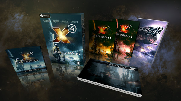 Скриншот №1 к X4 Foundations Collectors Edition - Extra Content