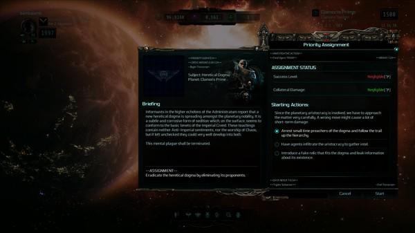 Скриншот №1 к Warhammer 40000 Inquisitor - Martyr - Faith Undone