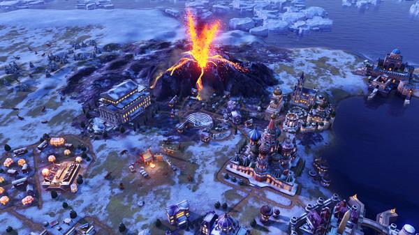 Скриншот №1 к Sid Meiers Civilization® VI Gathering Storm