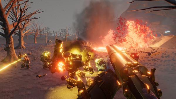 Скриншот №3 к Volcanoids
