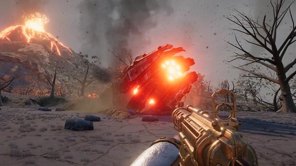 Скриншот №1 к Volcanoids