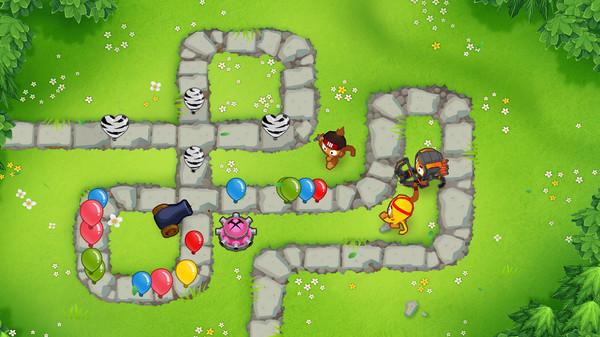 Скриншот №1 к Bloons TD 6