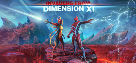 Invaders from Dimension X Cover Image