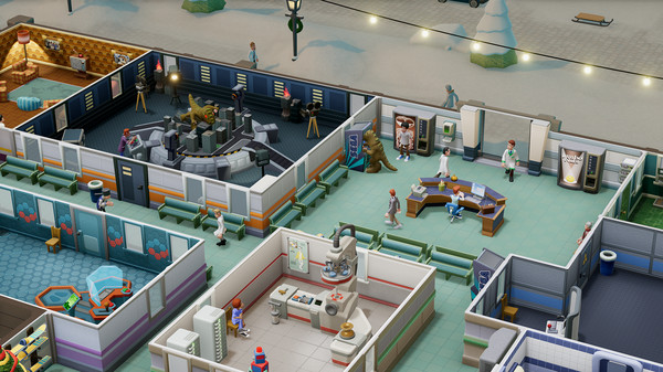 Скриншот №8 к Two Point Hospital Bigfoot