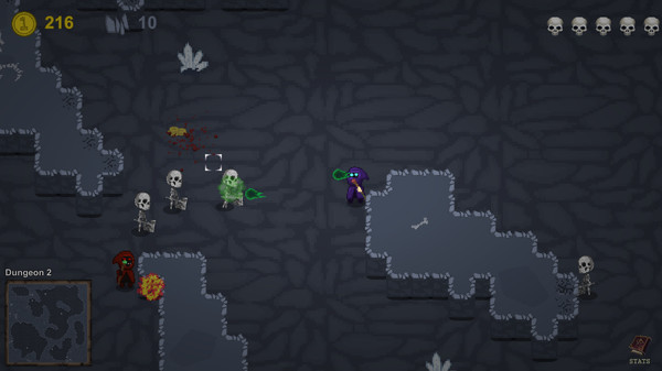 Dungeons of Necromancers screenshot