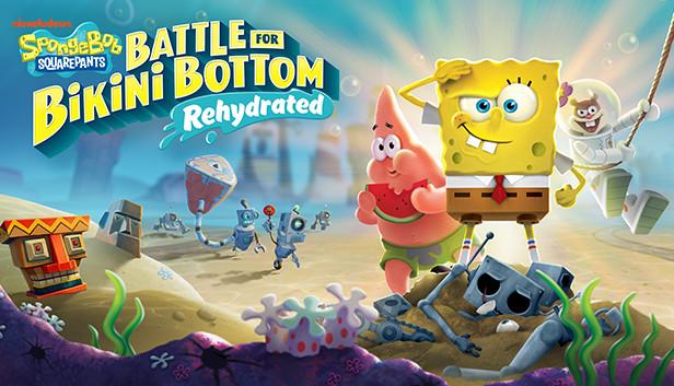 Spongebob Squarepants Battle For Bikini Bottom Dehydrated
