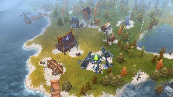 Скриншот №2 к Northgard - Nidhogg Clan of the Dragon