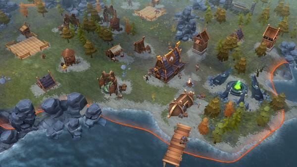 Скриншот №6 к Northgard - Nidhogg Clan of the Dragon