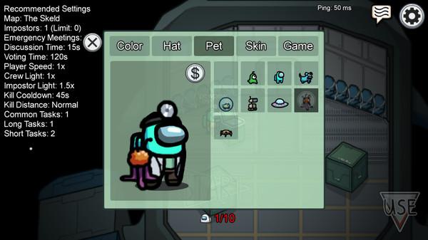 Скриншот №4 к Among Us - Bedcrab Pet Bundle