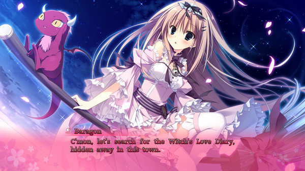 The Witch's Love Diary screenshot