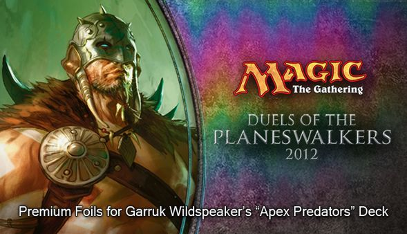 скриншот Magic 2012 Foil Conversion Apex Predators 0