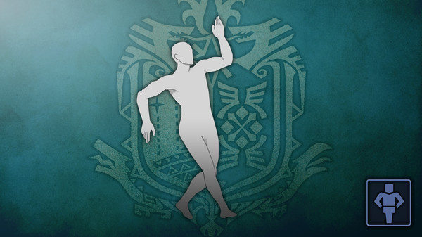 Скриншот №1 к Monster Hunter World - Жест крутой танец