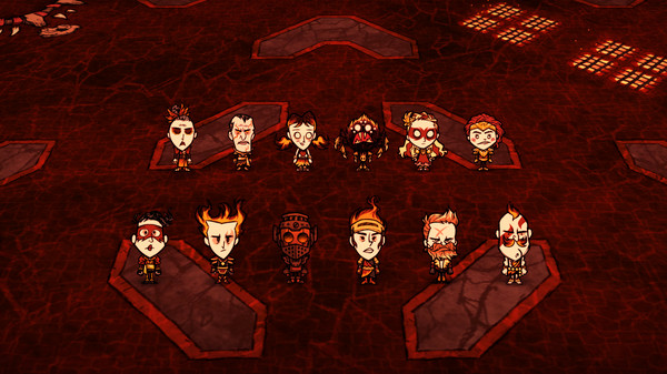 Скриншот №2 к Dont Starve Together All Survivors Magmatic Chest