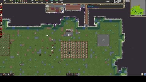 Скриншот №1 к Dwarf Fortress
