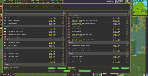 Скриншот №2 к Dwarf Fortress