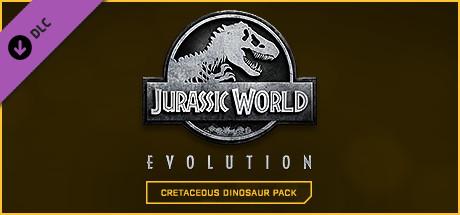 Image for Jurassic World Evolution – Cretaceous Dinosaur Pack