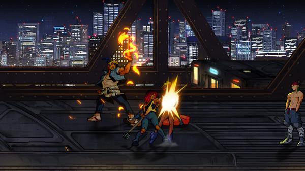 Скриншот №1 к Streets of Rage 4